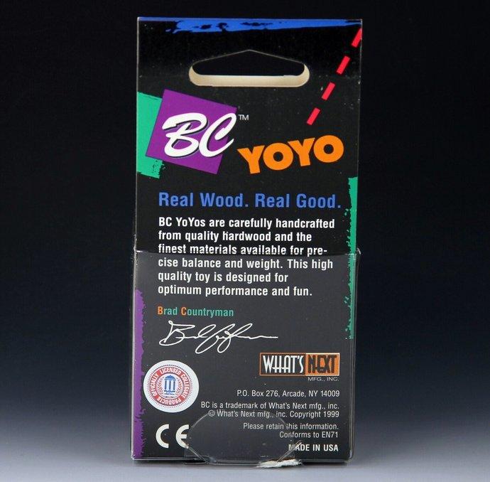 "Vintage Tom Kuhn/BC ""Lightning"" - Butterfly Mod Yo-Yo with Glow-In-The-Dark"