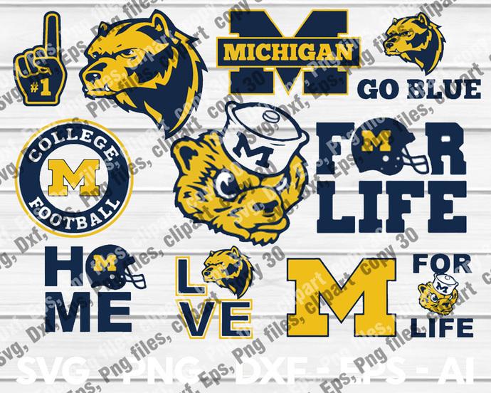 MichiganWolverines, MichiganWolverines svg, MichiganWolverines logo,