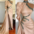 high neck champagne evening dresses with overskirt beaded vintage modest luxury