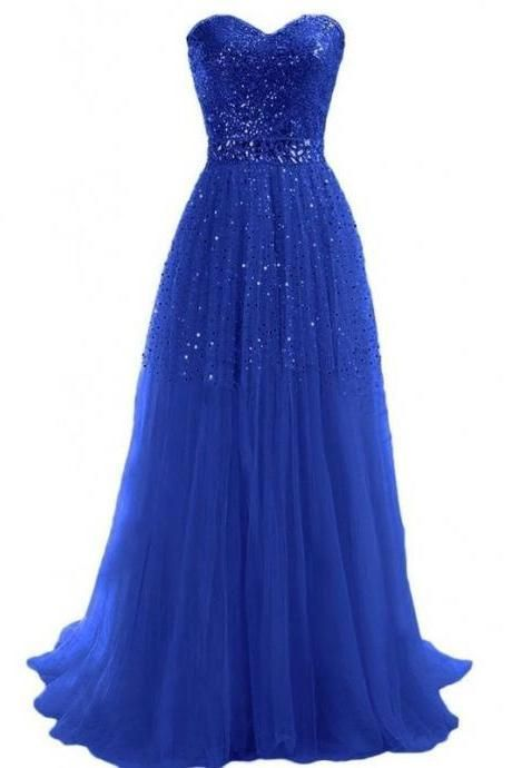Sexy Prom Dress,Sleeveless Chiffon Evening Dress,Long Evening Gowns M6612