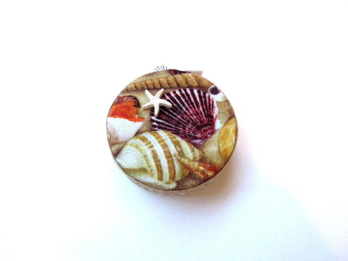 Measuring Tape Beach Shells Small Retractable Tape Measure