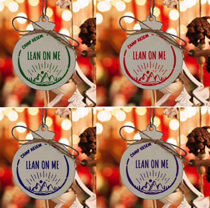 Camp Kesem decoration - 4 colors to chose from, personalized with name