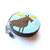 Tape Measure Woodland Moose Small Retractable Measuring Tape