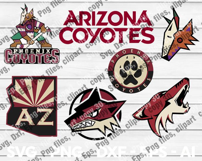 Bundledigital ArizonaCoyotes svg, ArizonaCoyotes logo, ArizonaCoyotes clipart,