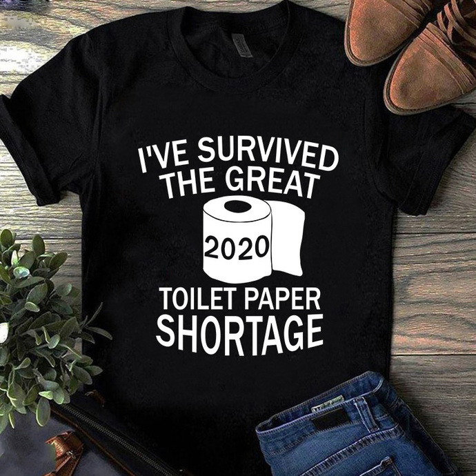 I've survived the great toilet paper shortage SVG, Toilet Paper SVG, Covid-19