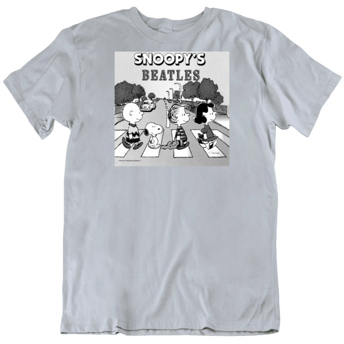 Snoopy's Beatles T Shirt