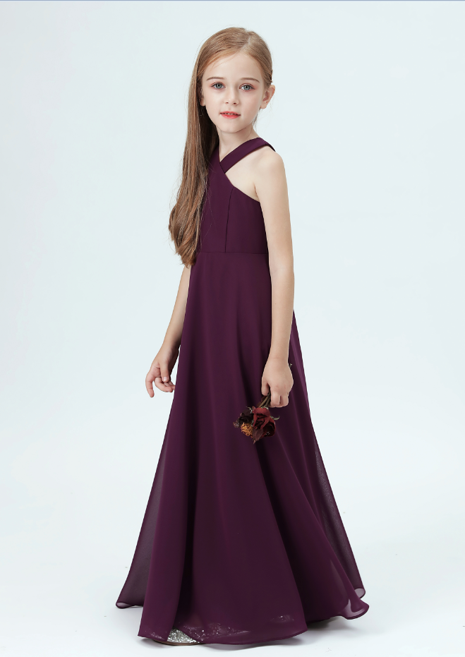 Flower Girl Dresses,Kids Prom Dress  Kids Princess Dress Elegant Strapless Party