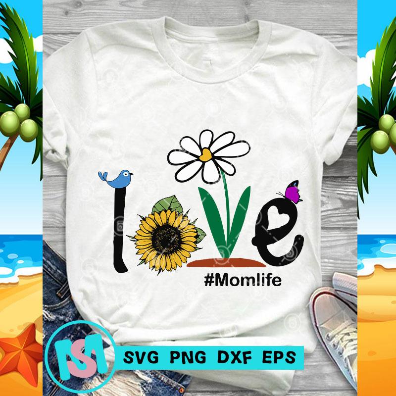 Love Momlife SVG, Momlife SVG, Quote SVG, Funny SVG, Digital Download