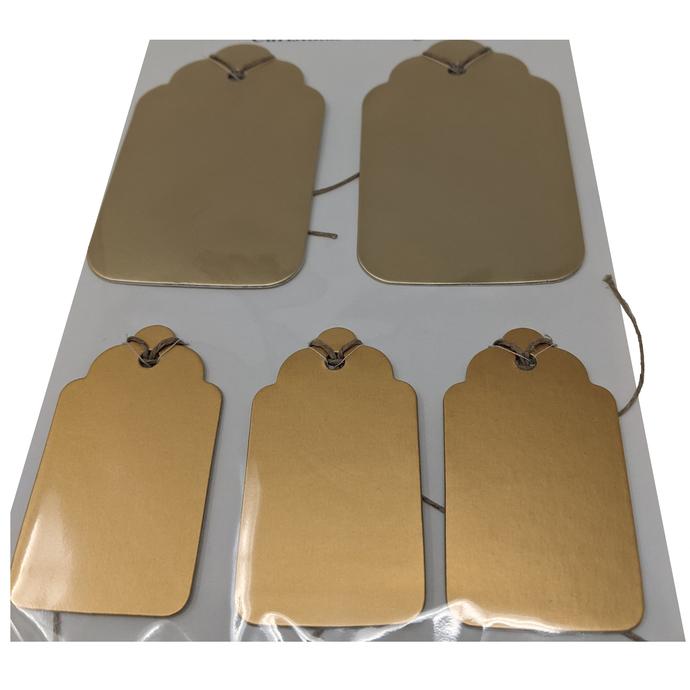 Shades of Gold Gift Tag Set