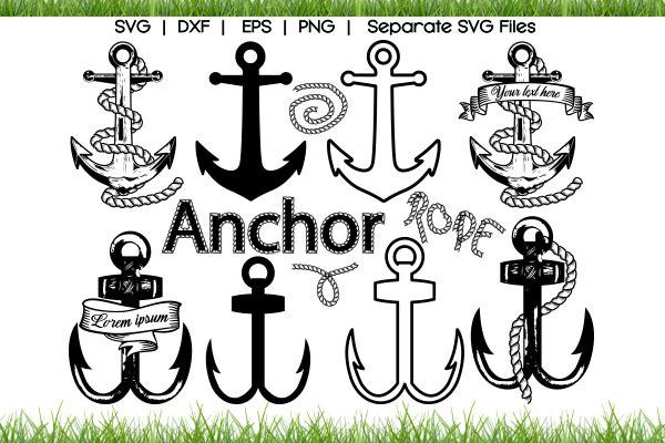 Anchor SVG Cut Files