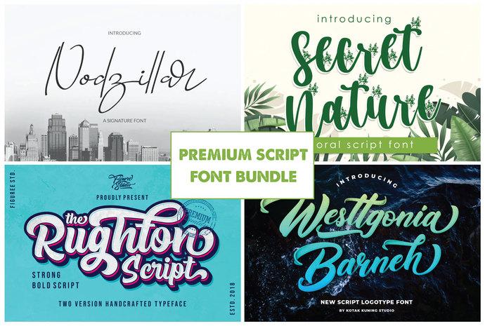 Premium Font, Handwritting Font, Calligraphy Font, Graphic Font, Floral Font,