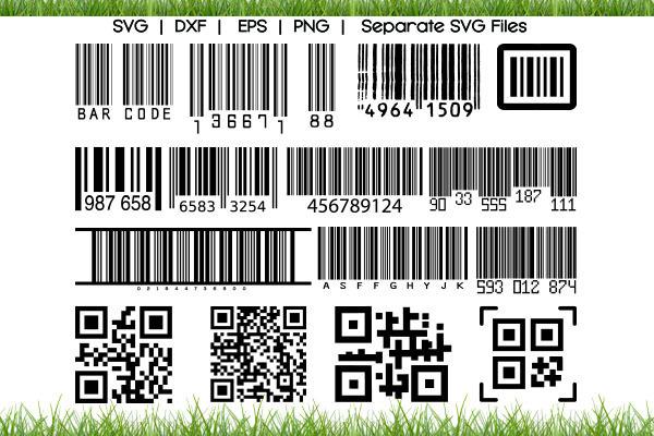 Barcode SVG Cut Files