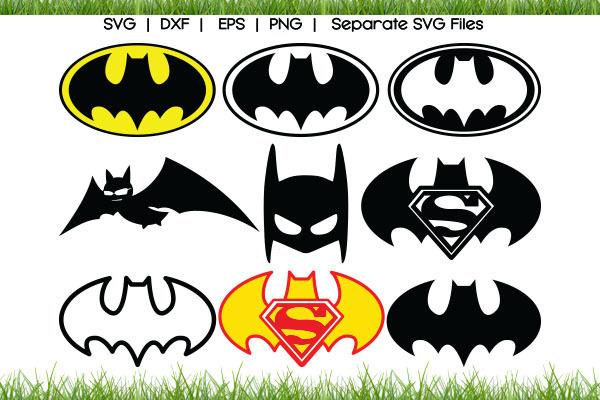 Batman logo SVG Cut Files