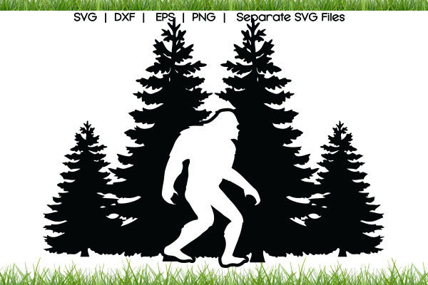Bigfoot SVG Cut Files