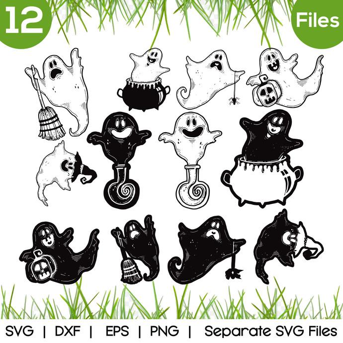 Boo halloween SVG Cut Files