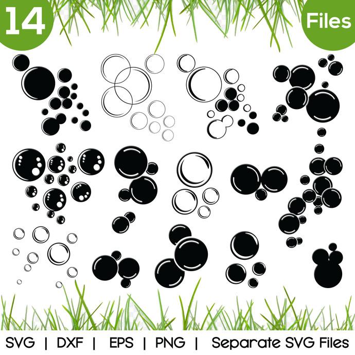 Bubbles SVG Cut Files