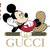 Mickey Gucci svg, Gucci svg, Gucci Mickey lying svg, Mickey Mouse svg, Gucci