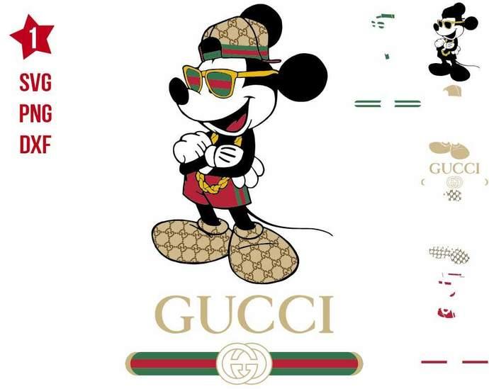 Gucci Mickey rap, rap avg, Hip Hop svg, Gucci Mickey svg, Mickey svg, Gucci svg,