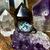 Grade AA Medium Magical Herkimer Diamond Ring - Dark Copper