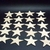 Pkg of 20 Star Cutouts Unfinished Wood 1/8 in.  thk, 2 inches WCS-2--18
