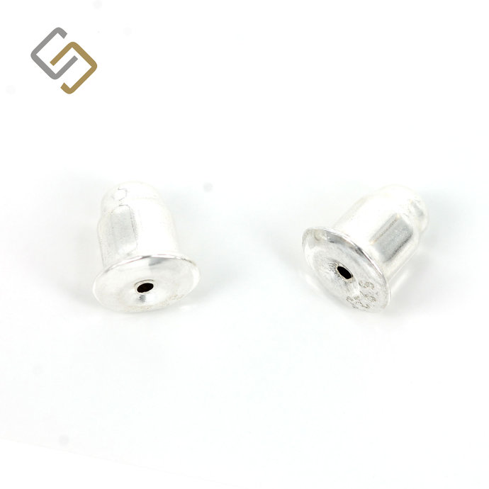 Ear Nuts/Ear Backs in Sterling Silver 5.5mm x 6mm
