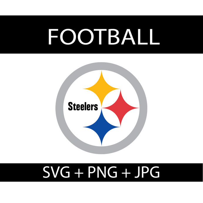 Pittsburgh Steelers Logo Svg, NFL Football Logo Collection, NFL Steelers Logo