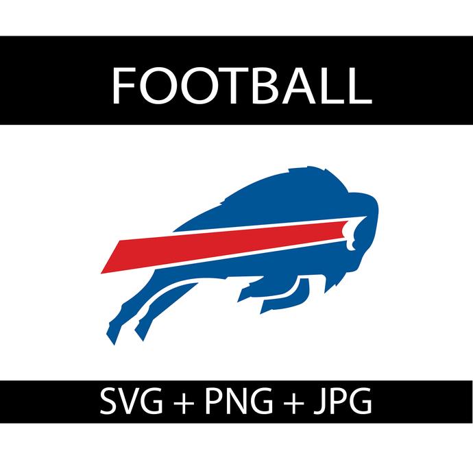 Buffalo Bills Logo Svg, Buffalo Bills Png, Buffalo Bills Cut File, Football Logo