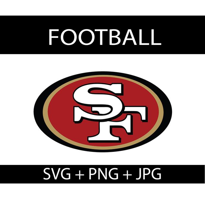 San Francisco 49ers Logo Svg, NFL Football PNG, NFL 49ers Logo Svg, Sport Team