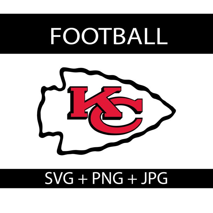 Kansas City Chiefs Logo Svg, NFL Football PNG, NFL Chiefs Logo Svg, Sport Team
