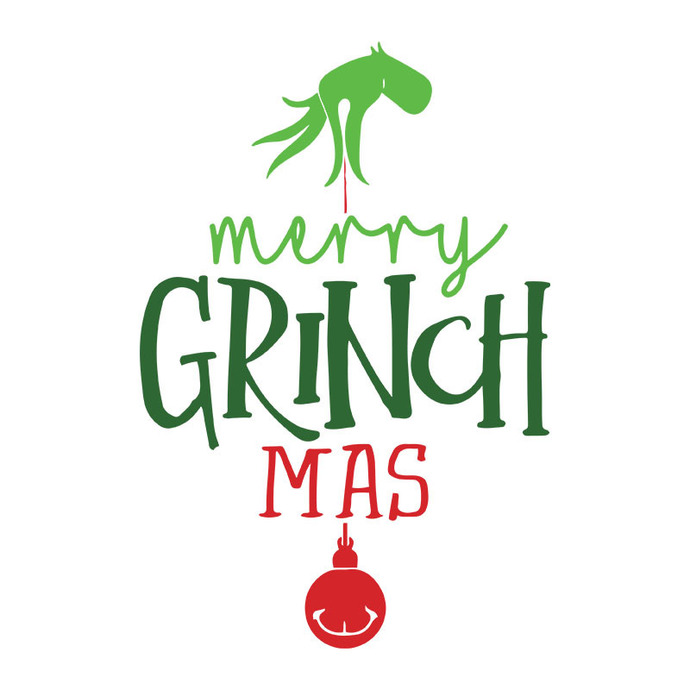 Merry Christmas With The Grinch, Grinch Christmas Svg, Christmas Svg Files