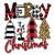 Merry Christmas SVG, Christmas Tree SVG, Christmas Gift