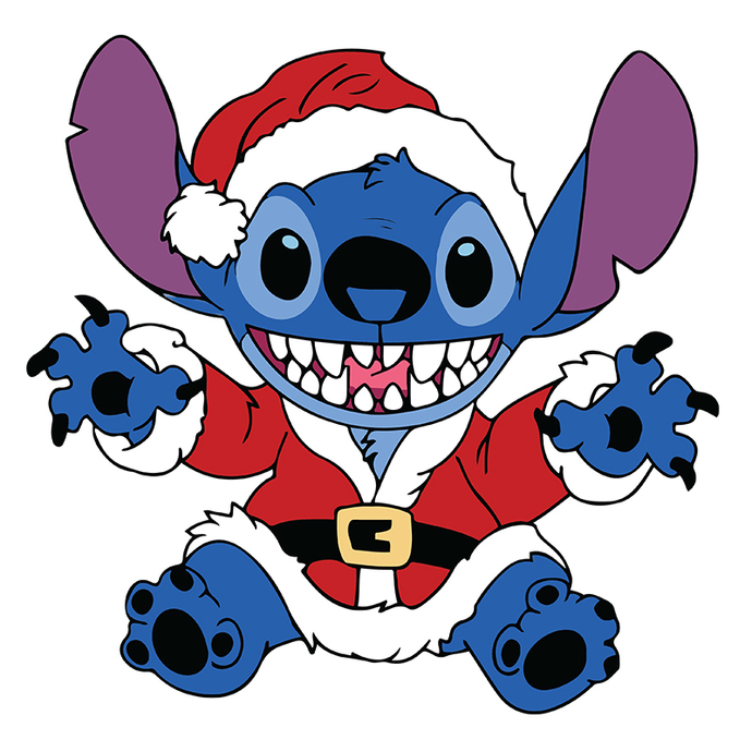 Happy Xmas Stitch Disney Christmas,Christmas Svg, Cricut File
