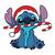 Santa Stitch Disney Christmas,Christmas Svg, Cricut File