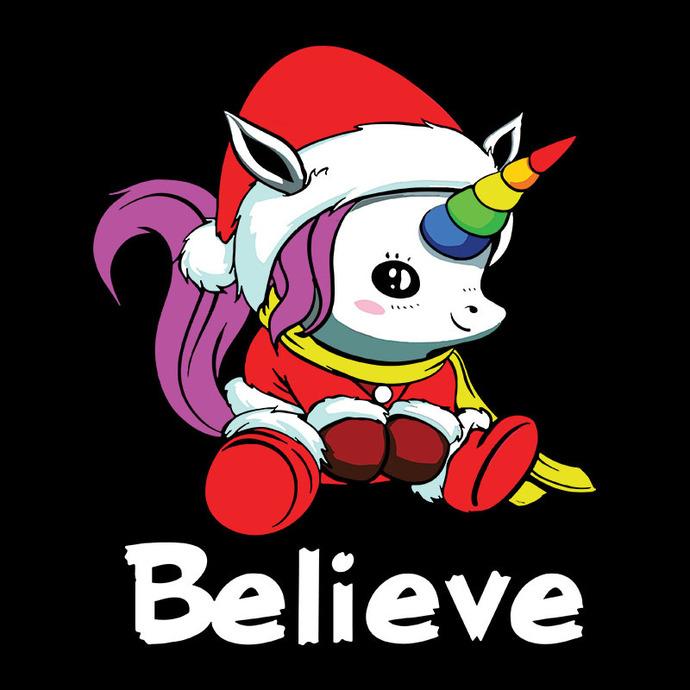 Unicorn Believe Christmas,Christmas Svg, Cricut File