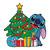 Disney Stitch Christmas Tree Christmas,Christmas Svg, Cricut File