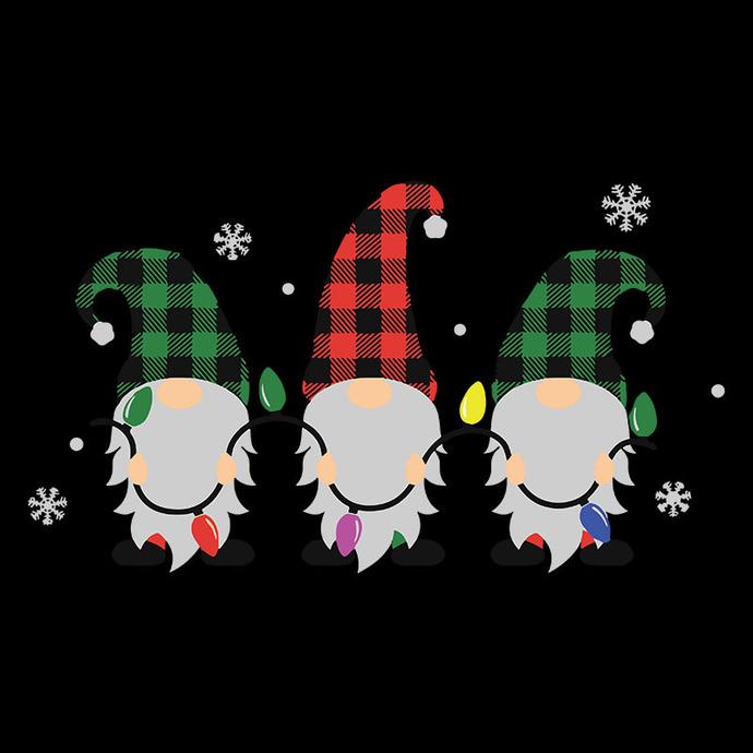 Christmas Gnomes Svg, Christmas lights SVG, Gnomes SVG, Christmas svg, SVG