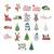 Christmas SVG, PNG Bundle Clipart Cut Files Vector Cricut tree holiday