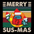 Merry Sus Mas Among Us Game Funny Vintage Svg