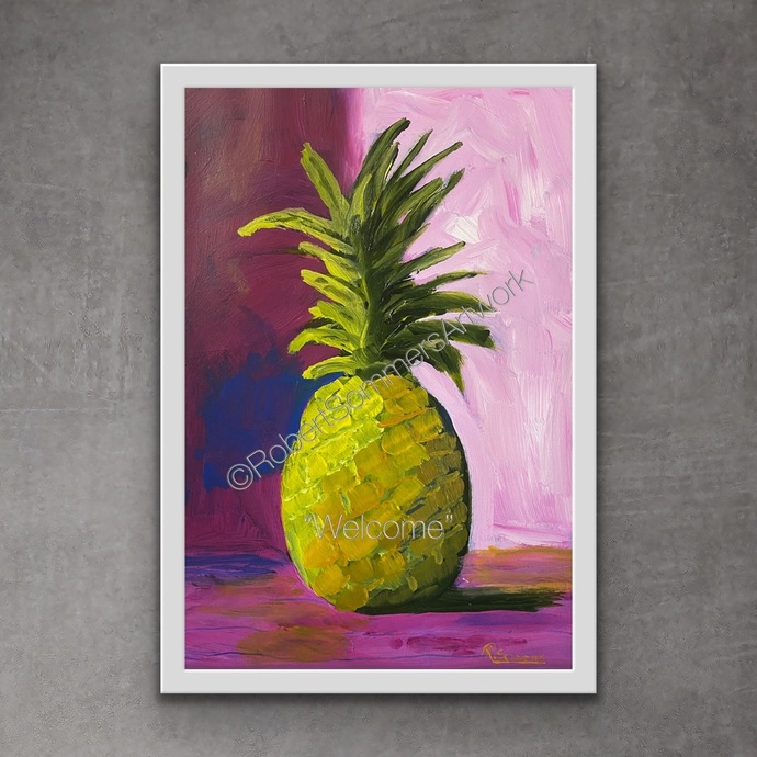 """INSTANT DOWNLOAD of my original painting """"Welcome""""."""