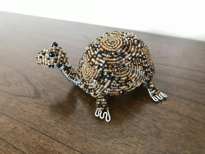 Tortoisehandcrafted figurine, Christmas gift, Christmas decor, Animal lover,