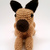 Great Dane (Cropped/Upright Ears, Fawn) Realistic Crocheted Plush - *READY TO