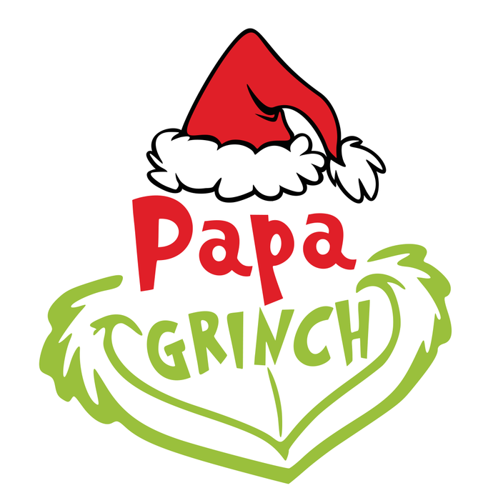 Papa Grinch Face Christmas, Christmas Svg, Grinch Svg,The Grinch svg, Cute