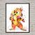 Chip 'n Dale: Rescue Rangers Disney, Chip print, poster, home decor, nursery