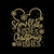 Snowflake kisses Christmas Wishes Merry Mickey Mouse disney Embroidery Machine
