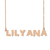 Custom Lilyana Name Necklace Personalized Gift for Halloween Easter Christmas