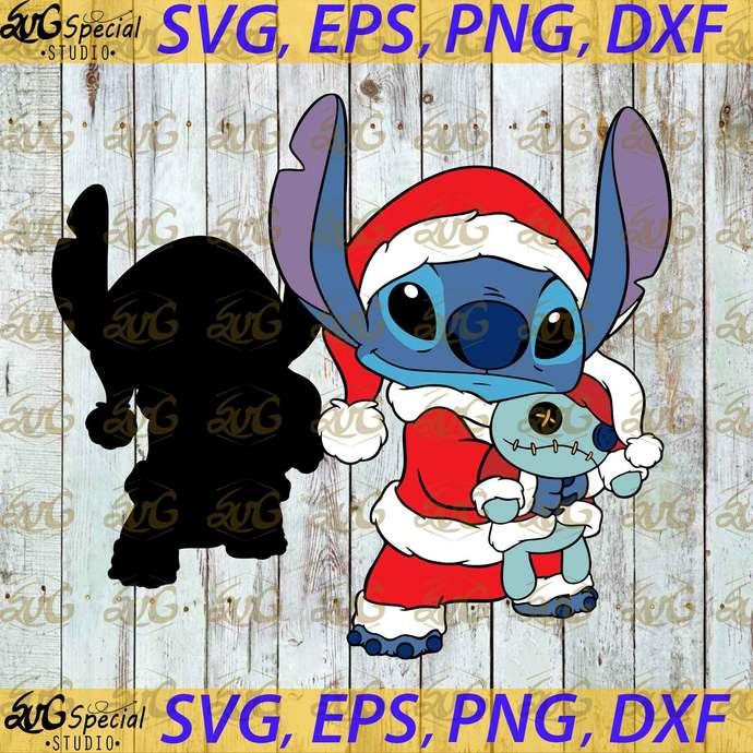 Merry Christmas Svg, Christmas Svg, Stitch Gift, Stitch Stitch Snowman Svg,
