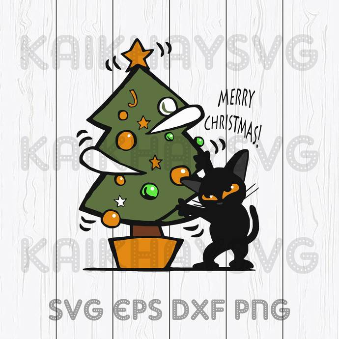 Cat Christmas 2020 Cricut, SVG, EPS, DXF, JPG, PNG,Instant Download