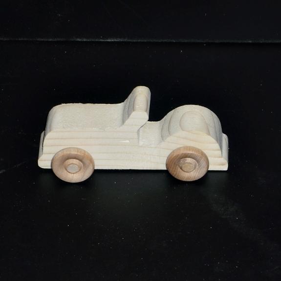 Birthday Party Pack Pkg of 10 Handcrafted Wood Toy Cars  BP-1-17AAH-U
