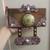 Handmade Mixed Media Key Holder Plaque - SALE