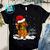 Dachshund Merry Christmas PNG, Dachshund PNG, Santa Hat PNG, Merry Christmas